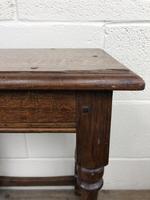 Antique Oak Joint Stool (5 of 11)