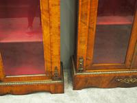 Matched Pair of Victorian Display Cabinets (9 of 17)