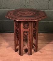 Decorative Burmese chai or tea table (3 of 8)