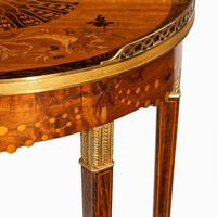 French demi-lune rosewood bow and arrow table by Georges-François Alix (11 of 11)