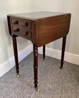 Victorian Mahogany Drop Flap Work Table (14 of 18)