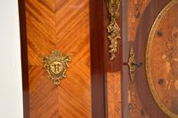 Antique French Inlaid Marquetry  Marble Top Cabinet (2 of 12)