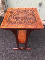 Arts & Crafts Oak Occasional Table (2 of 6)