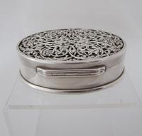 Impressive Victorian silver table snuff box Henry William Dee London 1877 (9 of 13)