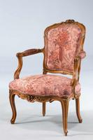 Pair of Louis XV Period Fauteuils (2 of 5)
