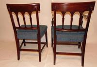 Set 6 Scottish Georgian Mahogany Dining Chairs (5 of 8)