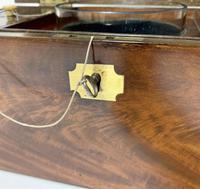 Antique Georgian Mahogany Tea Caddy Box (8 of 12)