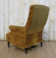 Antique Napoleon III High Back Armchair for re-upholstery (3 of 8)