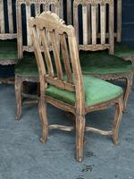 Set of 6 French Oak Farmhouse Dining Chairs (6 of 10)
