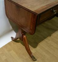 Regency Period Small Sofa Table c.1815 (2 of 9)