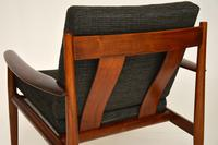 1960's Pair of Danish Rosewood Armchairs by Grete Jalk (6 of 12)