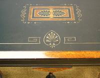 Outstanding Aesthetic Ebonised Burr Walnut Table c.1870 (7 of 10)