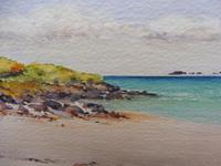 Watercolour Calgary Bay Isle of Mull Artist Joyce Dalgety (8 of 10)