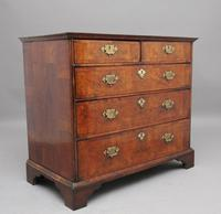 18th Century Walnut Chest of Drawers (3 of 9)