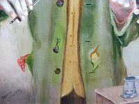 Oil on Canvas The Violinist Artist David Vivien 1970s (3 of 10)
