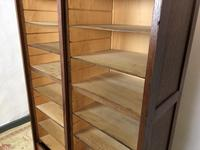 """Vintage Mid Century Double French Filing Cabinet Tambour Roller Shutter """"Radia"""" (8 of 12)"""