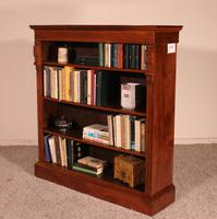 Open Bookcase in Walnut-19th Century - England (9 of 10)