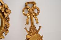 Antique Italian Giltwood Mirror Set (11 of 12)