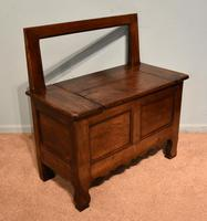 Mid 19th Century French Chestnut Bench (7 of 7)