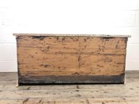 Antique Pine Trunk or Blanket Box (6 of 14)