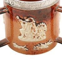 Doulton Lambeth Miniature Loving Cup (4 of 7)