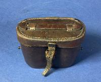 Victorian Brass Binoculars with original leather case (15 of 19)