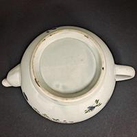 18th Century Liverpool Tea Pot (6 of 6)