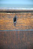 Antique Oak Mule Chest (3 of 13)