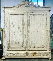 French Painted Wardrobe
