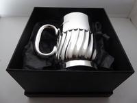 1908 Hallmarked Solid Silver 1/2 Pint Tankard Christening Mug 205g by W Hutton (10 of 10)