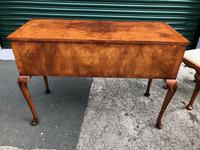 Antique Burr Walnut Dressing Table & Stool (8 of 10)