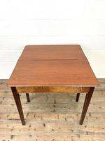 Antique Mahogany Fold Over Table (8 of 10)