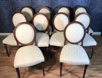 Set of Ten Mahogany Dining Chairs (5 of 10)