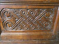 19th Century Carved Oak Cupboard / Dresser (13 of 16)