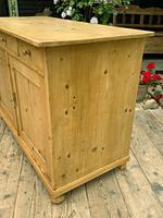 Large Old Pine Dresser Base Sideboard / Cupboard /  TV Stand - We Deliver (5 of 9)