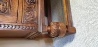 Superb Carved Oak Cupboard on Stand (33 of 34)