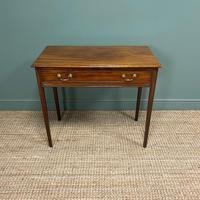 Fine Georgian Mahogany Antique Side Table (4 of 5)