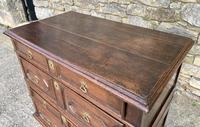 17th Century Oak Two Part Chest of Drawers (8 of 20)