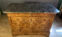 Large Louis Philippe Walnut Commode (6 of 12)
