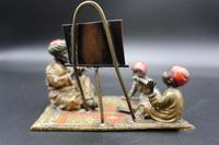 Late 19th Century Austrian Bronze of a Music Teacher with Two Pupils (3 of 5)