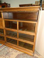 Suite of Oak Stacking Bookcases (3 of 7)