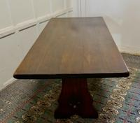 Large Country Oak Refectory Table (3 of 5)