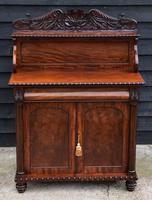 Superb Regency Mahogany Cabinet / Cupboard / Chiffonier c.1820 (3 of 7)