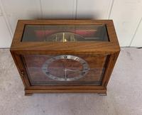 Walnut Chiming Elliott Mantel Clock (4 of 10)