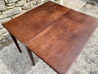 Antique Georgian Mahogany Fold Over Tea Table (22 of 27)