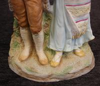Antique Bisque Porcelain Figure Group (7 of 7)