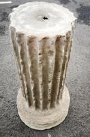 Large Composite Stone Statue On Column - Julius Cesar (11 of 11)
