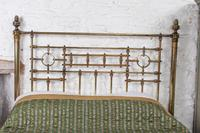 Handsome Victorian All Naturally Aged Brass King Size Bed (7 of 10)