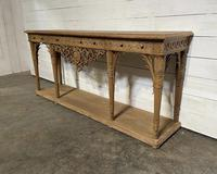Wonderful French Walnut Console Table (15 of 36)