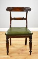 Set of 4 William IV Mahogany Dining Chairs (9 of 10)